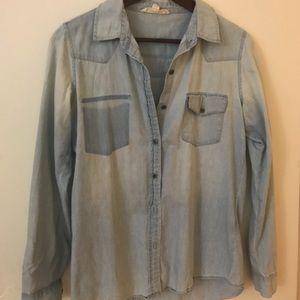 Lovestitch Vintage Wash Denim Shirt